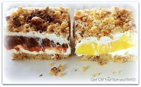 CHOCOLATE OR LEMON LUSH  Get f Your Butt and BAKE