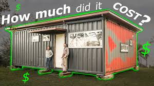 100 Living In Container Odd Life Crafting How Much Did Cost To Build Our Shipping