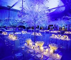 Winter Themed Wedding Reception