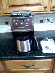 Cuisinart Grind Coffee Maker Best With Built In Grinder And Brew Thermal