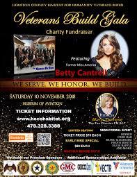 Houston County Habitat Veterans Build Gala 10 NOV 2018