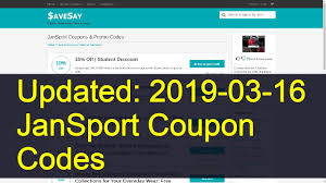Jansport Coupon Code 27 Best Deals We Could Find On The Internet Chicago Tribune Olympic Village United Shop For Jansport Bags Online 31 Promo Code For Jansport Bpack Coupon Code Coupon Vapordna Coupon December 2019 10 Off Purchase Of 35 Or Pin By Jori Wagen Kiabi Jcpenney Coupons Jansport Coupons Promo Codes Deals March Earn Royal Sporting House Warehouse Sale May Singapore Superbreak Bpack Jansportcom Auto Repair St Louis Hsn Shopping Makemytrip Intertional Hotel