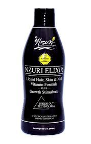 Nzuri Elixir Hair Liquid Vitamin Goes Straight To Work Unlike Pills