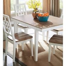 Dining Table Set Walmart by Signature Design By Ashley Brovada Rectangular Dining Table Set