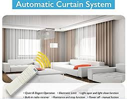 Motorized Curtain Track India by Amazon Com Electric Remote Controlled Drapery System W 8 U0027 Track