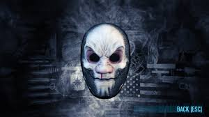 Payday 2 Halloween Masks by Can The Jimmy And White Death Masks Actually Drop Paydaytheheist