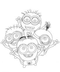Despicable Me Coloring Pages Minions
