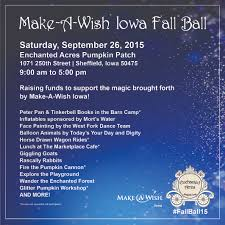 Central Iowa Pumpkin Patches by Have A U201cball U201d This Weekend In North Iowa The Field Position