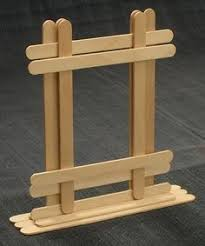 Diy Crafts Popsicle Stick Picture Frame Suitable For Craftsman Req Site Has Lots Of