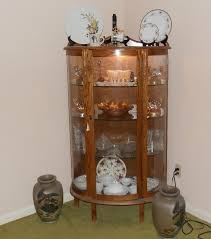 china cabinet sale antique refinished painted hutch creme wall