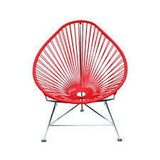 Hanging Papasan Chair Frame by Innit Acapulco Papasan Chair Frame Finish Chrome Weave Color
