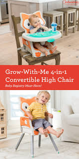Grow-With-Me 4-in-1 Convertible High Chair | Toddler Chair ...