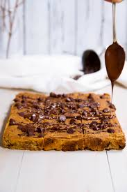 Pumpkin Desserts Easy Healthy by Chocolate Chip Coconut Flour Pumpkin Bars Ambitious Kitchen