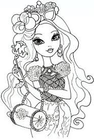 Free Printable Ever After High Coloring Pages Briar Beauty Sheet