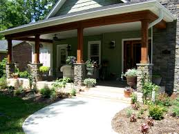Beautiful Porch Of The House by Ideas For Covered Back Porch On Single Story Ranch Search