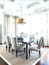 Dining Room Area Rugs Ideas Best Rug Large Table