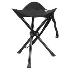100 Folding Chair With Carrying Case Portable Tripod Stool For Outdoor