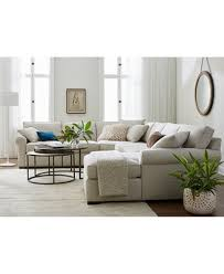 Astra Fabric Sectional Collection Created for Macy s Furniture
