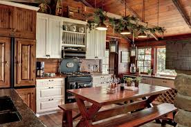 Enchanting Rustic Country Kitchen Designs Kitchens Design Pertaining To Decorating Ideas Decor 10