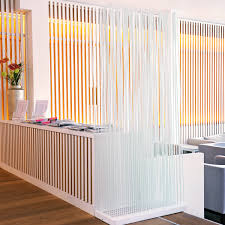 bambus paravent als raumteiler weiß 180cm kaufen