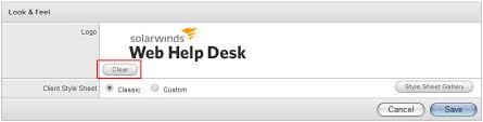 Solarwinds Web Help Desk Reports by Add A Custom Logo To Web Help Desk Solarwinds Worldwide Llc