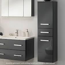 badezimmer schrank midischrank bad badezimmerschrank mdf