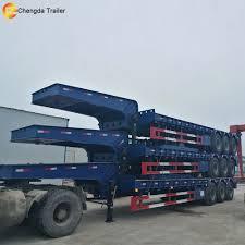 China Best Brand Low Bed Semi Trailr New Trucks Utility Bed Trucks ...