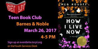 Get Lit Teen Book Club Barnes & Noble Topeka 26 MAR 2017