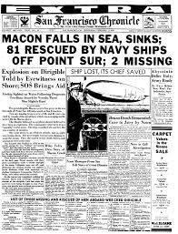 Sinking Of The Uss Maine Newspaper by Chronicle Covers San Francisco Chronicle