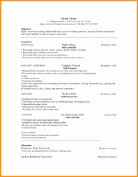 Sample Resume Retail Sales Associate No Experience Elegant Janitor Objective Template Learnhowtoloseweightnet