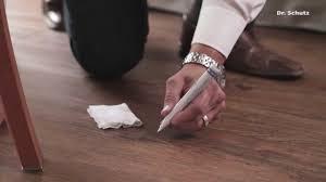 Moduleo Vinyl Flooring Problems by Scratch Remover Pen Scratchfix Pu Repair Pen For Lvt Floors Youtube
