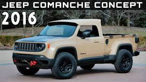 2016 Jeep Comanche Concept Review Rendered Price Specs Release Date ... Jeep Truck 2018 With Wrangler Pickup Price Specs Lovely 2017 Jeep Enthusiast 2019 News Photos Release Date What Amazing Wallpapers To Feature Convertible Soft Top And Diesel Hybrid Unlimited Redesign And Car In The New Interior Review Towing Capacity Engine Starwood Motors Bandit Is A 700hp Monster Ledge