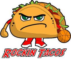 Taco Basketball Logo