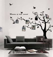 new large black photo picture frame tree vine branch removable