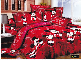 red mickey mouse twin bedding cute mickey mouse twin bedding