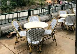 Style Cafe Chair Parisian Chairs Paris Table And Outdoor