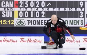 100 Peter De Cruz Kevin Koe Beats Switzerlands At World Mens Curling