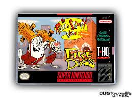 Ren & Stimpy Show Part II: Fire Dogs SNES Super Nintendo Game Case ...