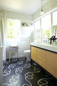 Decorating Bathroom Walls Guest Wall Decor Contemporary With Wood Vanity Word Art Ribbon Windows Ideas