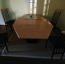 esszimmer tisch ausziehbar inkl 4 stühle