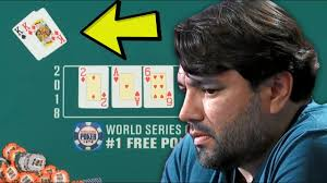 Blowing A Once In A Lifetime Chance 2018 Main Event World Series Of