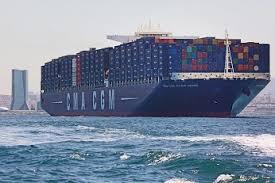 le cma cgm jules verne plus grand porte conteneurs au monde et