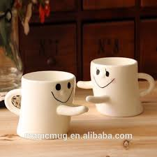 Couple Ceramic Hug Mug Cute Novelty Love Mugs1JPG