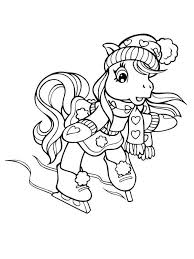 Kids Coloring Pages Adult Easy Christmas Crafts Digital Stamps My Little Pony Mon Petit Poney Ponies Cards Lalaloopsy