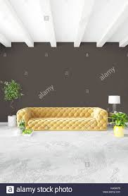 100 Gw Loft Apartments Modern Loft Interior Bedroom Or Living Room With Eclectic Wall With