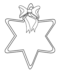 Printable Christmas Star Coloring Pages