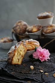 hefeteig muffins mit quark apfel füllung