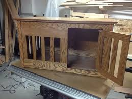 dog crate table plans tips to build custom dog crate table