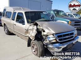 100 4 Wheel Truck Parts Used 1999 Ford Ranger XLT 30L X2 Subway