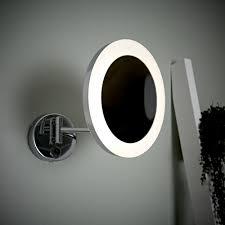 monoun led kosmetikspiegel für das badezimmer rund